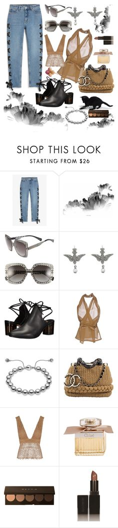 """I have a dream"" by waltos ❤ liked on Polyvore featuring Monki, Alexander McQueen, Gucci, Free People, Rick Owens, Karl Lagerfeld, Related, Chloé, Becca and Laura Mercier"