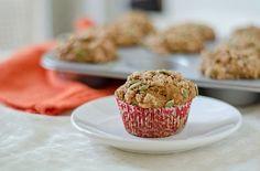 Healthy Pumpkin Pie Muffins  click photo for recipe.