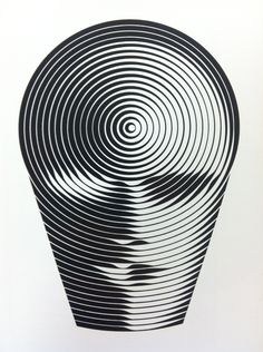 Unesco symbol for international education year by victor vasarely