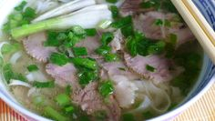 Recipe: Phở bò – Beef Noodle Soup PHO