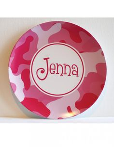 Thank you for making such a cute plate for Jenna. She loves it!