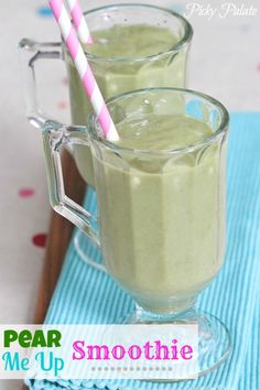 Pear Me Up Smoothie - http://www.pincookie.com/pear-me-up-smoothie/