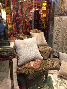 Turkish textiles, Grand Bazaar, Istanbul