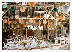 colorful fun wedding