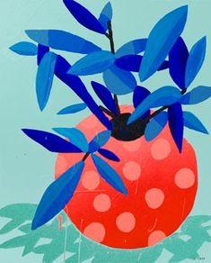 Acrylic painting on canvas Acrylic Art, Acrylic Painting Canvas, Pattern Art, Print Patterns, Canvas And Cocktails, Plant Painting, Mini Plants, Felt Dolls, Matisse