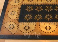 Kilburn House Floorcloth - adapt this to be a quilt