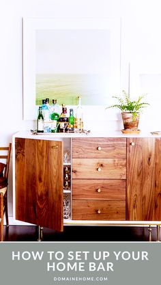 How to Set Up Your Home Bar