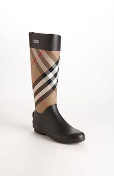 Burberry 'Clemence' Rain Boot (Women)