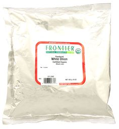 Frontier Natural Products Organic White Onion Powder