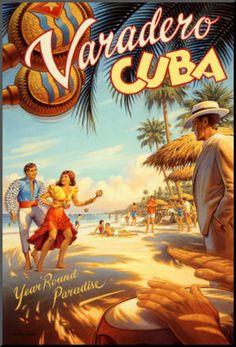 Varadero, Cuba Poster