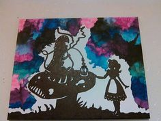 Melted Crayon Art The Mushroom Of Course Alice in by LunaKarunaArt