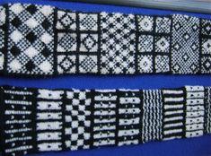 Sanquhar pattern sampler