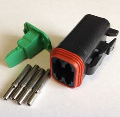 16 way mta automotive fuse box holder fbb16u fha655 twl genuine deutsch dt 06 4s plug 4x pins w4s wedgelock dt06 4s twl