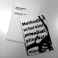 Chance operations - Llibre d'artista, sobre una prova de gravat, amb textos de John Cage. Tiratge de 150 exemplars, numerat.