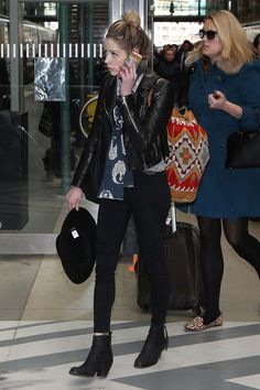 Vogue Daily: SO sad about Peaches Geldof - (Balenciaga jacket) Winter Outfits, Cool Outfits, Fashion Outfits, Fashion Ideas, Peaches Geldof, Balenciaga Jacket, Just Peachy, Rocker Chic, Winter Looks