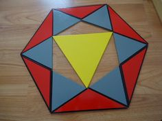 Umamah Learning Academy: Islamic art with Constructive Triangles an Extension
