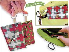 ScrapBusters: Necessities On The Go Mini Clutch | Sew4Home