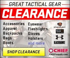 """CHIEF- offering over 55,000 public safety and apparel products for Law Enforcement, Fire/EMS, Military and Security industries, as well as hunting and outdoor gear for civilians. Best of all, CHIEF backs all purchases with our """"Worry-Free"""" satisfaction guarantee policy. $0.00 USD"""