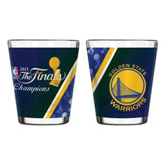 Golden State Warriors 2015 NBA Finals Champs Boelter Sublimated 2 oz. Shot  Glass 7bcf5db6d