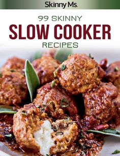 99 Skinny Slow Cooker Recipes! #slowcookerrecipes #crockpotrecipes #skinnyslowcooker
