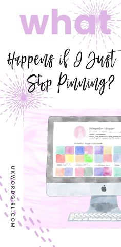 What Happens If You Just Stop Pinning on Pinterest? ~ I stopped auto-pinning to see what would happen to my account when I did ... Click to read the full report. | UKWordGirl | #Pinterest #PinterestScheduling | Autopinning on Pinterest | Scheduled Pins | Manual or Automatic Pinning | Pinterest Strategy
