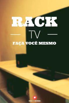 Faça Você Mesmo Rack de TV DIY