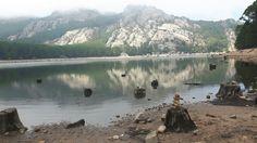 Lac du barrage de l'ospedale