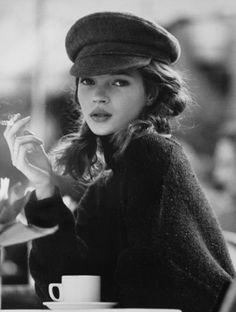 Kate Moss en noir et blanc sous l'objectif des plus grands photographes - Kate Garner