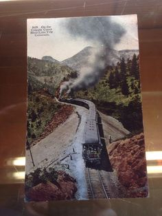 Antique POSTCARD Cripple Creek, Short Line Railroad Thru Colorado c1911