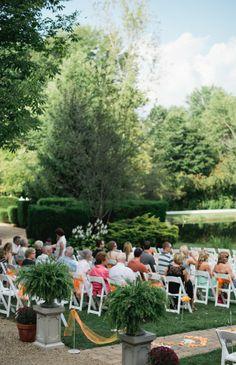 Outdoor Country Wedding Ceremony