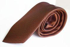 Men Necktie Montebello    Modern Cravat by Alta Moda Italy  Type : Medium  Color : Red ,black dots  100% MicroFiber  Quantity : 1 Pc.  Measurement   Sword Width:  7 cm , 2.7 inch   Length : 148 cm , 58.26 inch