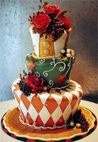 Mad Hatter Tea Party Cake!