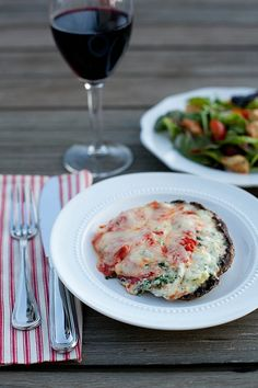 Lasagna-Stuffed Portabellos–Annie's Eats