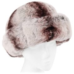 Preowned Christian Dior Chapeaux C.1960's Marc Bohan Chinchilla Fur... ($584) ❤ liked on Polyvore featuring accessories, hats, grey, gray hat, wide brim hat, fur lined hat, grey hat and brimmed hat