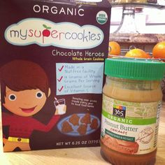 About to get our #dessert on! #organic #cookies #pb #cleaneating #healthykids #kidseatingwhole