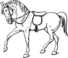A walking horse outline clip art image free to use for any purpose in your presentation, web page, or document. Airplane Coloring Pages, Train Coloring Pages, Fish Coloring Page, Horse Coloring Pages, Printable Coloring Pages, Coloring Rocks, Coloring Sheets, Free Coloring, Kindergarten Coloring Pages
