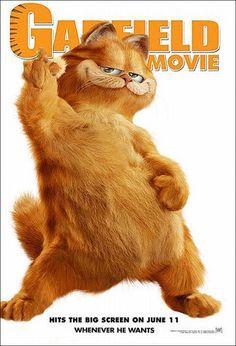 Garfield - O Filme (Garfield), 2004.