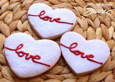 Galletas para bodas, aniversarios de boda, San Valentín o un día cualquiera...