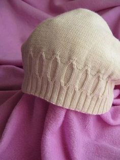 Простая шапка спицами для женщин с описанием (Вязание спицами)   Журнал Вдохновение Рукодельницы