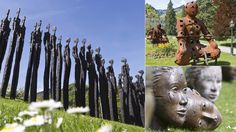 A new open-air exhibition in Bad Ragaz, Switzerland and Vaduz Liechentenstein, shows off more than 80 works by different artists. The works will be on display until early November.