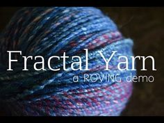 How to Spin a Gradient Yarn from a Batt - YouTube