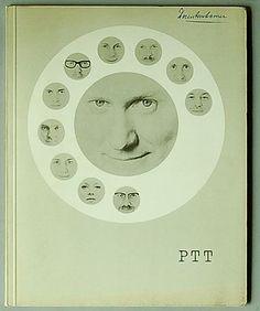 PTT de verbinding, fotograaf Paul Huf, Violetta Cornelius e.a., 1e druk, Centrale Directie van het staatsbedrijf der PTT, 1962 ontwerp: Jurriaan Schrofer