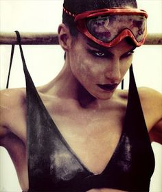 Love - Anda and Masha Stylists and Hat designers; Inspiration: FASHION VS SPORT