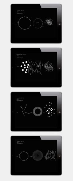 interactivité, design graphique, design, application, application mobile, application iphone, iphone, application ipad, ipad, horloge, application horloge