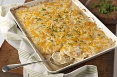 Savory garlic scalloped potatoes - good for when you just get your braces adjusted!