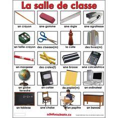 Affichages , cahiers de vocabulaire .....