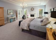 Transitional Bedroom Design Ideas, Pictures, Remodel and Decor