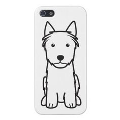 Silky Terrier Dog Cartoon iPhone 5 Cover