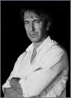 Alan Rickman in a promo/publicity shot for Closet Land 1991