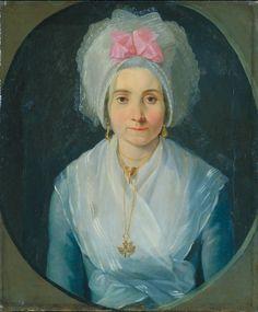Anonyme languedocien, Portrait d'une jeune femme, entre 1800 et 1825, huile sur toile. Inv. 71 2 6. Non exposée. © Musée des Augustins, Toulouse, photo Bernard DELORME.